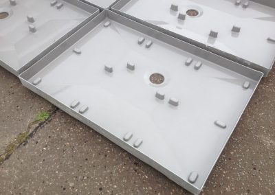 bespoke grp shower trays